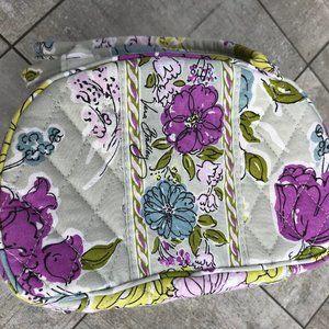 Vera Bradley Watercolor Cosmetic Makeup Bag